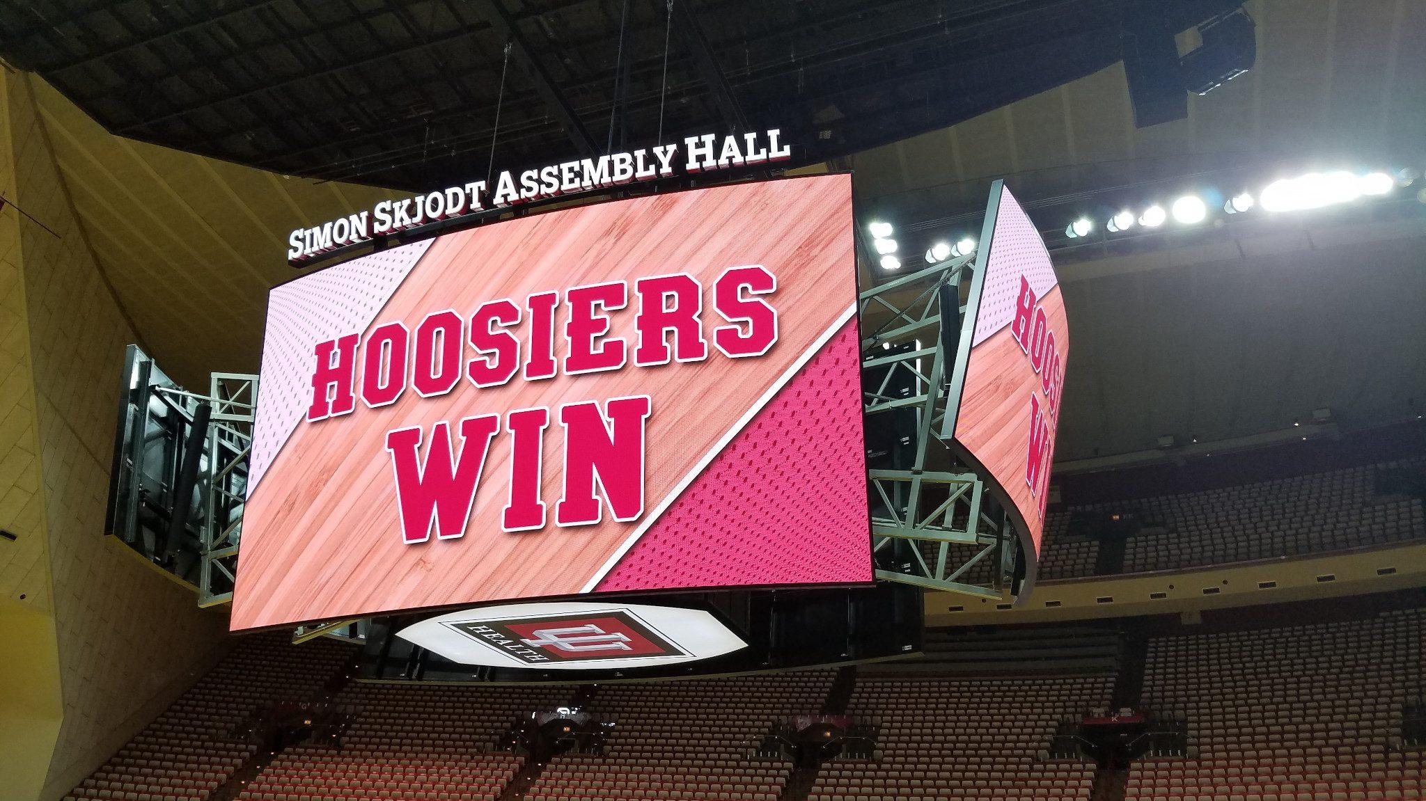 Indiana University's Simon Skjodt Assembly Hall