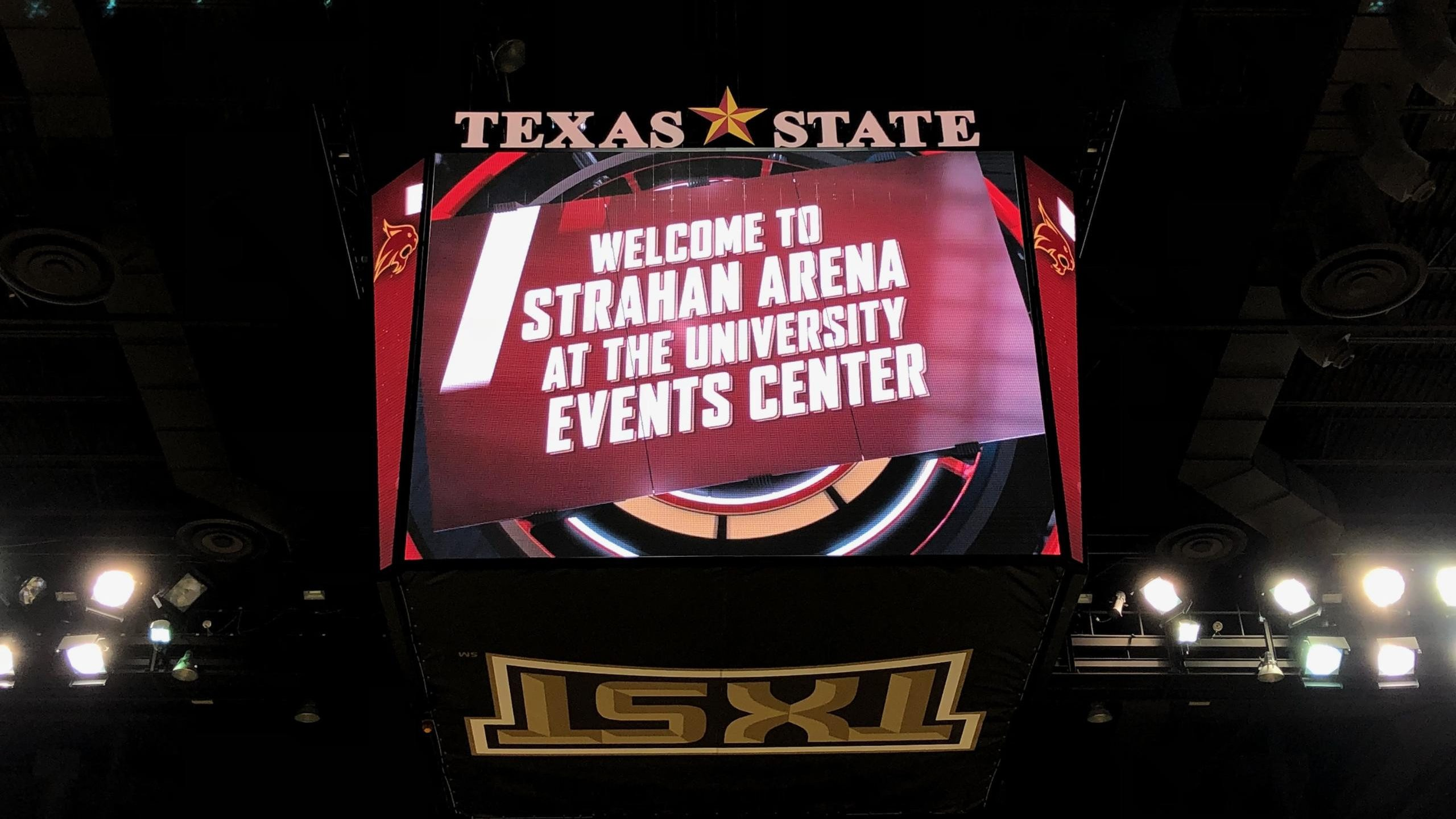 University Events Center at Texas State University.